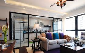 简约小户型客厅隔断设计