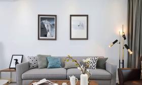 现代简约灰色禁欲风客厅设计