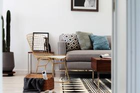 简约舒适北欧清新客厅装饰