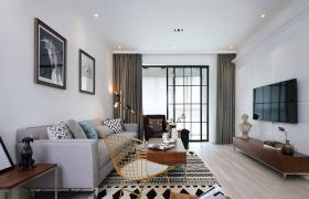 北欧风简约装饰客厅设计