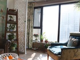 经典美式简约室内休息阳台设计