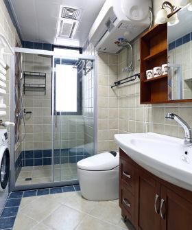 简约美式卫生间装修效果