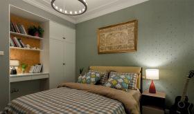 美式理性小清新卧室设计
