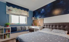 地中海梦幻清新卧室装饰设计