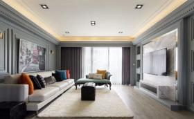 现代简约舒适温馨简致客厅设计