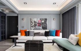 现代简约简致客厅装饰设计
