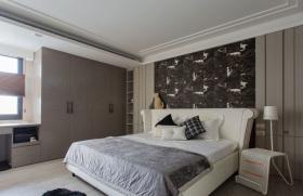 现代温馨舒适卧室装修设计