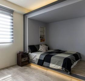 男性阁楼卧室设计