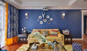 美式雅致多元客厅设计