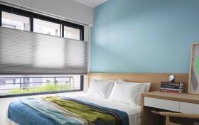 现代简约宜家清新卧室设计
