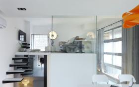 简约小户型LOFT卧室设计
