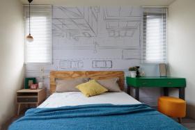 明艳精致多彩卧室装修设计