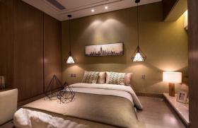 现代欧式混搭温和卧室设计