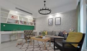 现代简约精致客厅设计