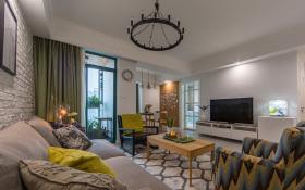 现代简约森系客厅装饰设计