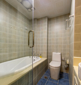 独立式小户型卫生间设计