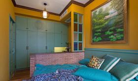 东南亚卧室书房设计