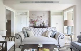 欧式豪华简雅客厅装修设计