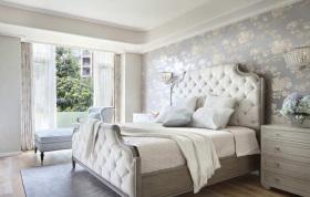 欧式简约精致女性化卧室装修设计
