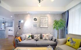 现代简欧客厅装修设计