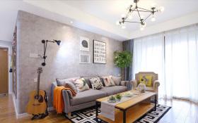 简约现代客厅热烈客厅装修设计