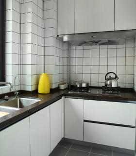 简约极简北欧厨房设计
