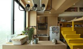 年轻明亮北欧厨房设计