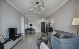 现代简约舒适客厅设计