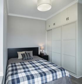 男性化现代卧室衣柜设计