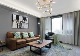 简约森系精致化典雅客厅装修设计