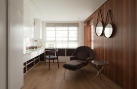 全木整洁温馨舒适客厅装修设计