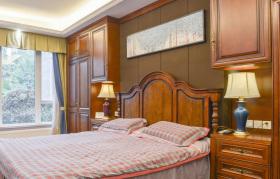 新中式典雅温和舒适卧室装修设计