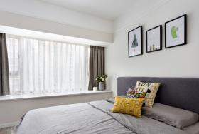 简约精致灰色卧室装修设计