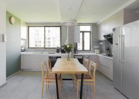 极简原木风精致化开放式厨房设计