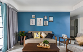 简约和谐现代化客厅装修设计