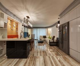 豪华精致开放式厨房装修设计