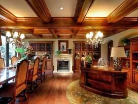 美式别墅设计效果图