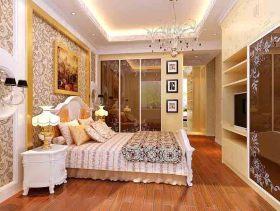 欧式奢华三室装修效果图