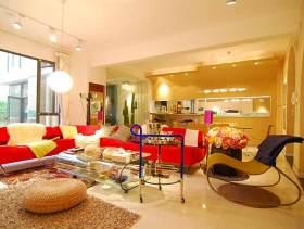 简约现代一居室装修效果图