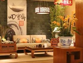 中式一居室装修案例