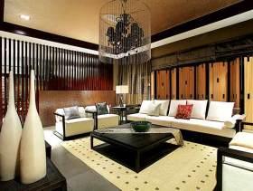 中式典雅别墅装潢设计