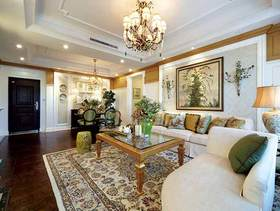 中式田园二居室装修案例