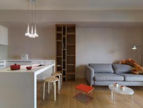 北欧简约两居装修设计