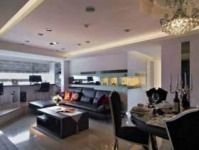 低调奢华欧式三居室装修效果图
