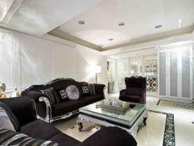 轻奢新古典三居室装修效果图
