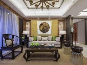 文雅中式四居室装修效果图