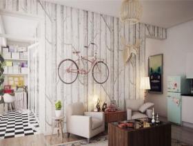 奇思妙想混搭单身公寓效果图
