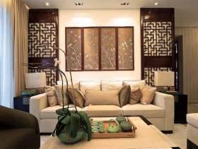 2015中式典雅二居室装修效果图