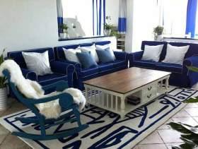 地中海二居室装修效果图