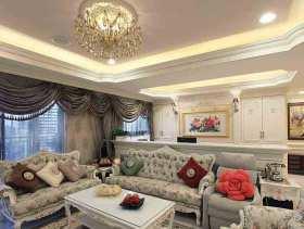 2015纯净欧式二居室装修案例